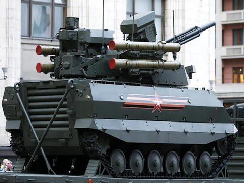 Запад испугался русских роботов на Параде Победы