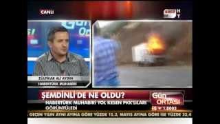 PKK'lılarla yüz yüze!