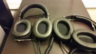 audio technica ath m50 vs sennheiser hd 380 pro headphones