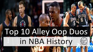 10 Best Alley Oop Duos of All Time