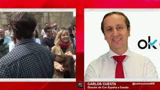 CARLOS CUESTA: NO PODEMOS PERMITIR QUE EL PNV Y BILDU  IMPONGAN UNA DICTADURA EN LAS VASCONGADAS