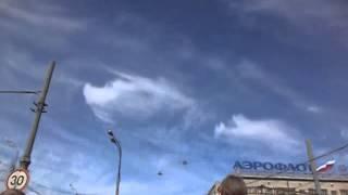 9 Мая 2015 Москва Парад победы Самолеты