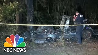 Authorities Say No Driver Behind The Wheel In Tesla Crash | NBC Nightly News