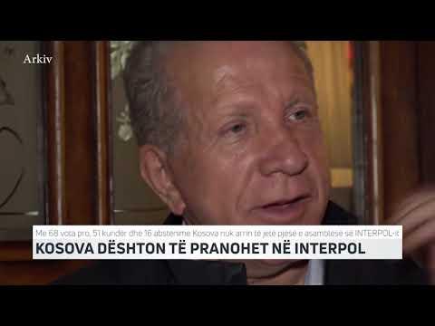 KOSOVA DËSHTON TË PRANOHET NË INTERPOL