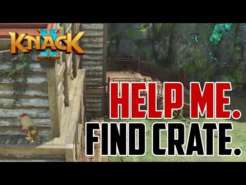 Knack 2 : Chapter 2-1 Secret Blue Energy Experience Point Crate Location 2
