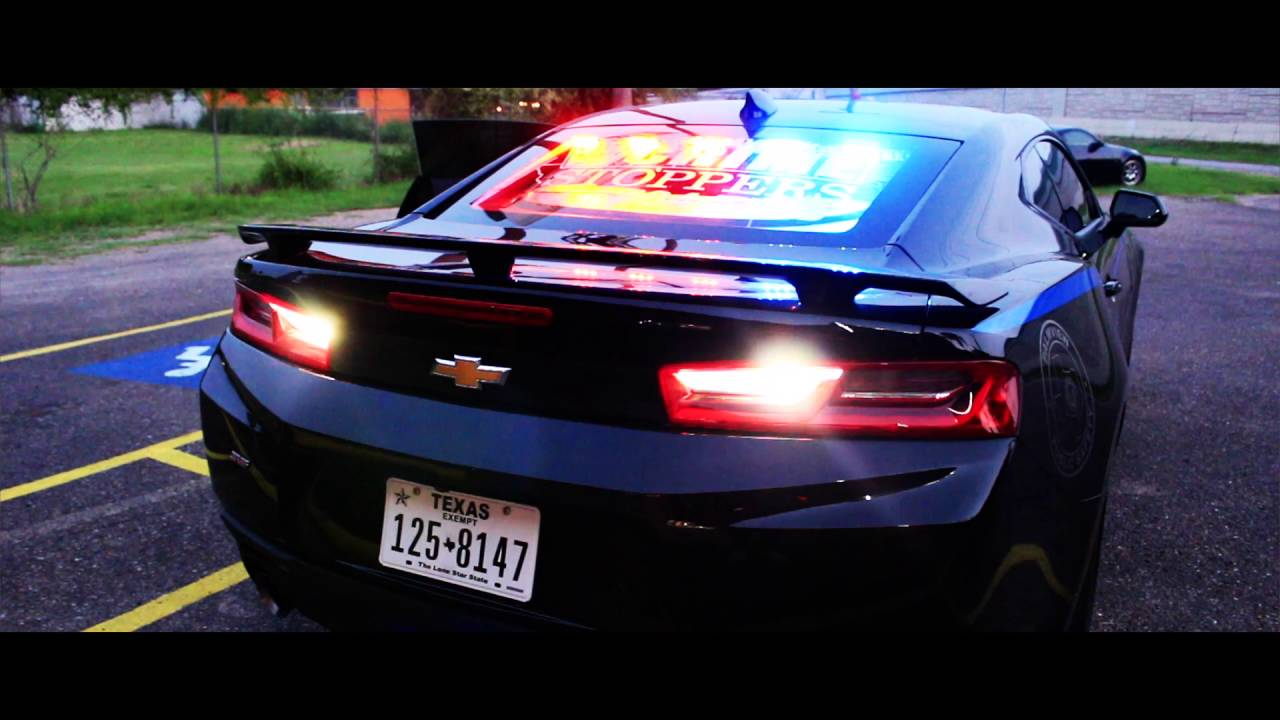 2016 Camaro Ss Police Edition Youtube