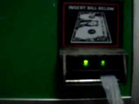 how to hack a bill changer machine
