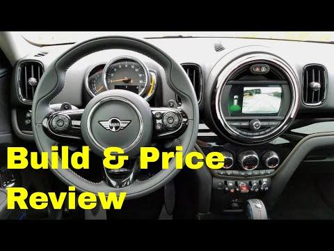2019 MINI Cooper S Countryman ALL4 Signature JCW - Build & Price Review:  Colors, Interior, Options