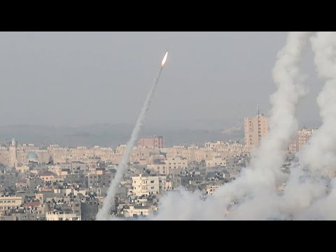 Hamas fires rockets into Israel after clashes near Jerusalem