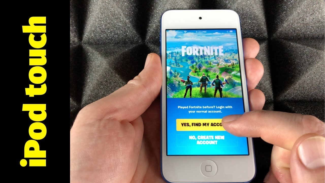 Fortnite Ipod Touch 6 How To Download Fortnite On Ipod Touch Fortnite Battle Royale Download Play Youtube