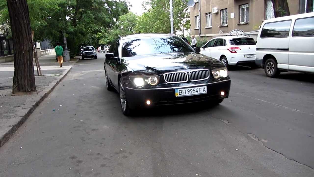 BMW 745 Black