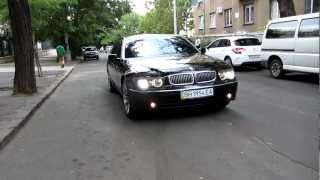 ПРОКАТ АВТО BMW 745 black в Одессе - +38 048 700 3 999 (24 часа)(, 2012-08-22T10:02:24.000Z)