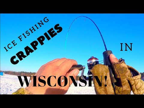 Ice Fishing Wisconsin | Crappies And Gills