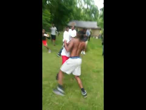 Hood Fight In Little Rock