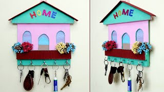 Easy and Beautiful Key Stand Idea || Best Out of Waste Craft Idea || Key Stand
