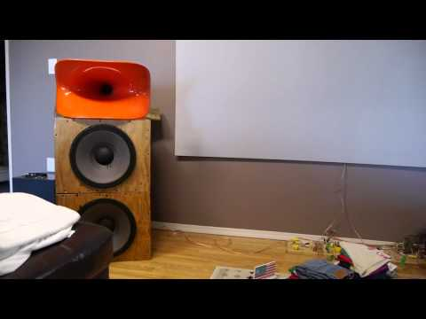 Iwata 600 Be JBL 2446 with 2226 woofers