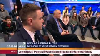 Kacper Sajecki (Liberalni) vs Michał Kabaciński (TR) i Artur Dębski (PSL)