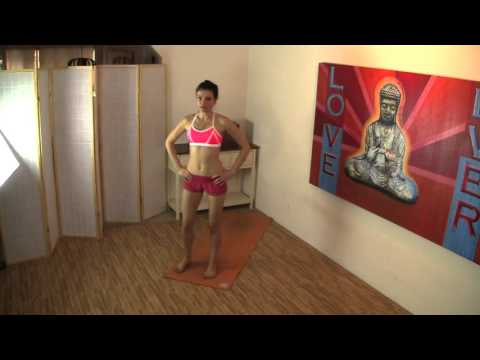COFFEE CUP RAINY DAY POWER YOGA Body weight Strength