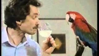 Pepita Werbefilm aus dem Jahr 1984 - Papagei