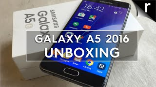 Samsung Galaxy A5 2016: Unboxing & hands-on review