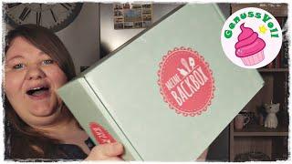 🥰 😍 MEINE BACKBOX XXL - Unboxing 🤗 | Deine Box rund ums Backen & Dekorieren [Werbung]