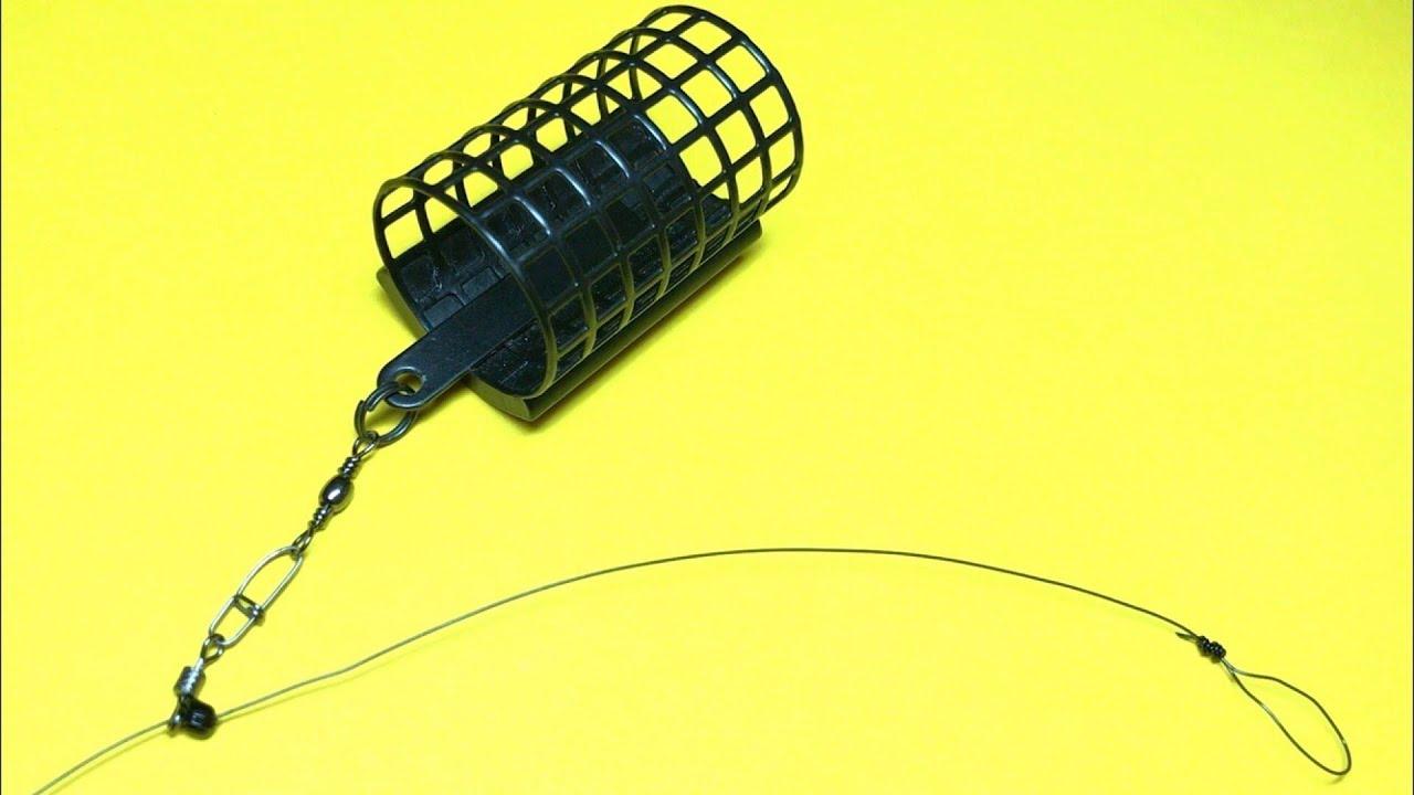 Лучшая фидерная оснастка | монтаж фидерной оснастки инлайн | фидер для начинающих | фидер 2020