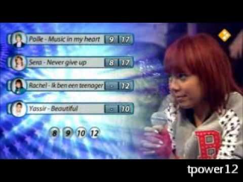Junior Songfestival - Halve Finale 1 - Uitslag