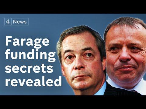 Nigel Farage's funding secrets revealed