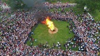 """""""Kakava Ateşi"""" Yandı, Edirne'yi Ateş Sardı!"""