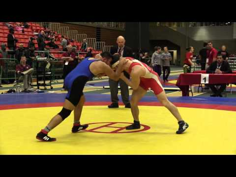 2014 Junior National Championships: 66 kg Wrestleoff Andrew McKenzie vs. Ahmed Shamiya