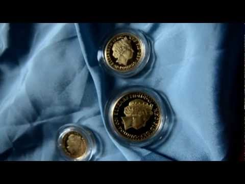 2002 Brittania 4 Coin Gold Proof Set