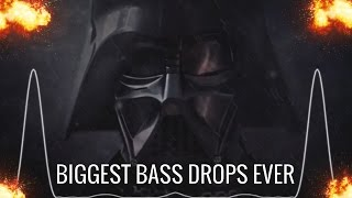 BIGGEST BASS DROPS EVER!!! (EXTREME BASS DROPS)