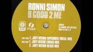 Ronni Simon - B Good 2 Me (1994)