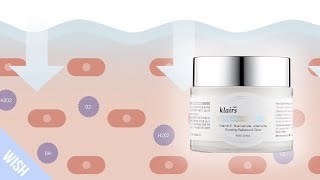 How does the KLAIRS Freshly Juiced Vitamin E Mask prevent aging, and brighten the skin?