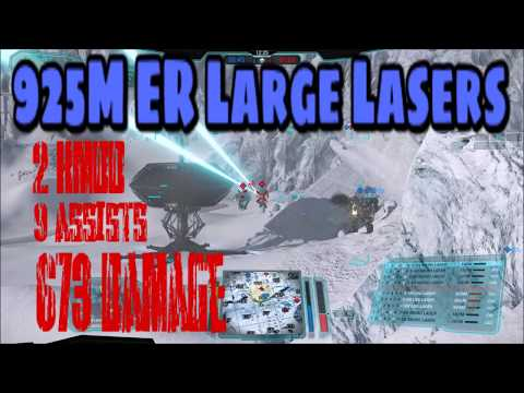 MWO Quickplay   Ebon Jaguar (EBJ-PRIME)   925m er large lasers (2 kmdd and 673 edamage)