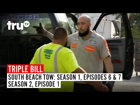 South Beach Tow |  TRIPLE BILL: Seasons 1 & 2 | Watch Full Episodes | truTV