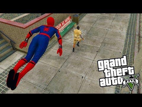 Ten Spider-Man jest NIESAMOWITY (GTA na modach) | SPIDER-MAN MOD