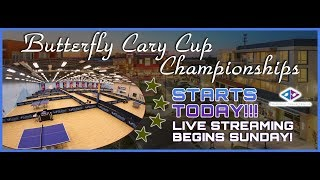 2018 Butterfly Cary Cup - Day 1