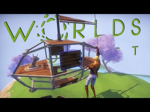 Building a Flying Ship! - Worlds Adrift - Floating Islands & Certain Death! - Worlds Adrift Gameplay