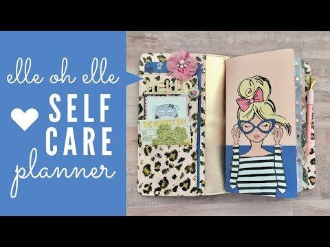 Elle Oh Elle Self Care Planner | TN Set Up