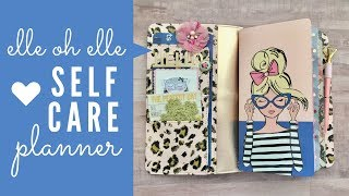 Elle Oh Elle Self Care Planner | TN Set Up