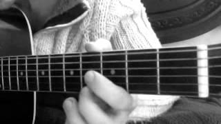 Урок игры на гитаре -River flows in you (Ветер)