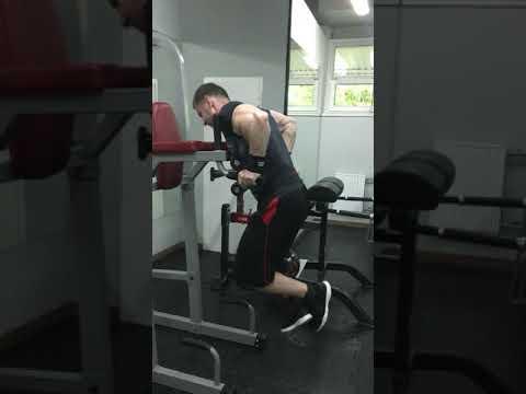 Отжимания от брусьев с 60 кг на 8 раз. Мошкин Владислав