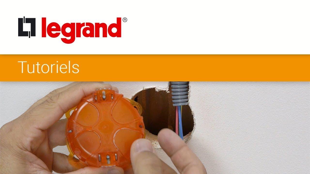 Diametre Scie Cloche Prise De Courant comment installer une boite d'encastrement legrand ?