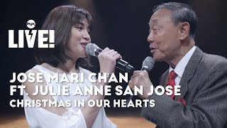 JOSE MARI CHAN FT. JULIE ANNE SAN JOSE - Christmas In Our Hearts (MYX Live! Performance)