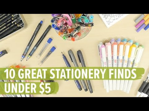 10 Great Stationery Finds Under $5