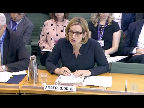 'Too slowly, too late': Amber Rudd describes response to the Windrush migrant problem