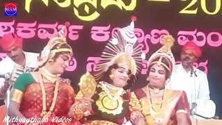 Yakshagana 2017 - Chandravali Vilasa - Raghavendra Achar