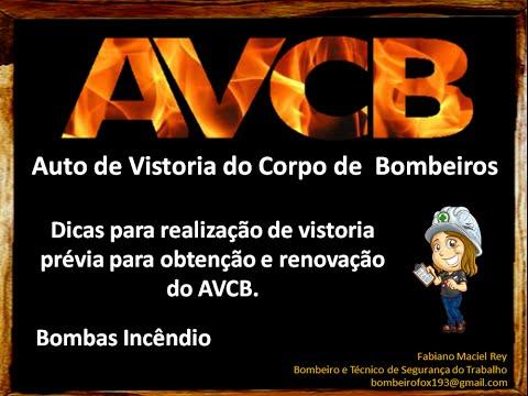 AVCB - Dicas para vistoria prévia - Aula 03 - Barriletes