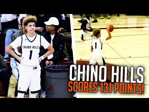 LaMelo Ball Halfcourt Shot! LiAngelo 65 Points! Chino Hills SHOWTIME VS Foothill! FULL HIGHLIGHTS